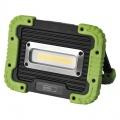 LED reflektor COB 20W, přenosný, AKU, nabíjecí přes USB