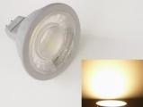 LED žárovka MR16/GU5.3 7W - bílá teplá