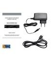Satelitní přijímač Sunsat S400HDi, FULL HDTV, pro Skylink, Čtečka karet Irdeto, MPEG4 satelitní přijímač s PVR nahráváním na USB, CINCH, HDMI, LAN konektor, OPTICKÝ SPDIF, programovatelné PVR nahráván
