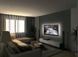 USB TV náladové osvětlení, LED pásek, Geti GLS33C, 90 cm, studená bílá, za TV, napájení USB 5V přímo z televize