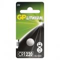 Baterie CR1220 3V GP Lithiová