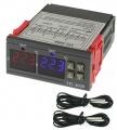 Digitální termostat duální STC-3008, -55° až +120°C, napájení 230VAC