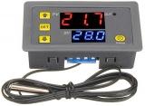 Digitální termostat W323, -50° až +110°C, napájení 12VDC