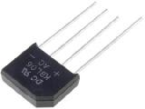 Můstek diodový 4A/600V KBL06 plochý