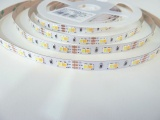 LED pásek CCT 18W 12V vnitřní 120LED/metr IP20 (WW+CW)