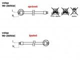 LED zářivka lineární T8, 8W, 60cm, mléčná + startér, varianty: studená,denní neutrální, teplá  bílá, 60cm, mléčná + startér, náhrada zářivky