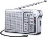 PANASONIC RF P150D stříbrný radiopřijímač FM/AM