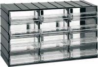 Závěsná skříňka stohovací 382x230x148mm 12  krabiček
