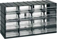 Závěsná skříňka stohovací 382x230x148mm 16  krabiček