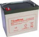 Baterie olověná 12V/75Ah Leaftron LTL12-75