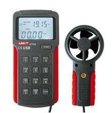 Měřič rychlosti větru Anemometr UNI-T UT362 USB