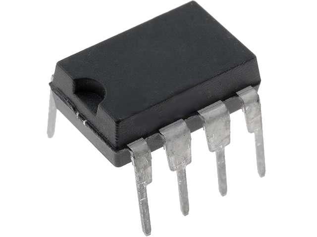 NE555P DIL08 časovač DIP8, integrovaný obvod
