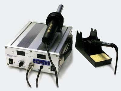 Páječka KOMBI 899A + turbínová horkovzdušná + klasická mikropájka procesorem řízená