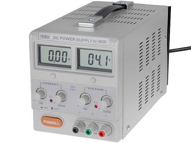 Zdroj laboratorní 0-30V 0-3A (1x) AX-3003D