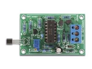Stavebnice univerzální teplotní senzor -20°C až +70°C, měření vnitřní a vnější teploty, ovládání topení nebo klimatizace