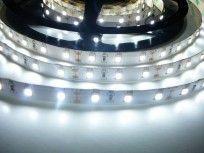LED pásek 24HQ6048 vnitřní samolepící, napětí 24V / 4,8W/m, studená bílá 6000K 410lm/m
