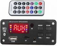 MP3 modul+FM rádio+Bluetooth 5.0+USB+D.O.