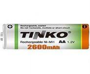 Baterie nabíjecí TINKO AA (R06) 2600mA
