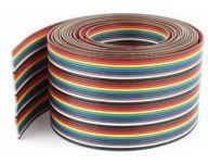 FBK40 kabel plochý barevný 40x0,13mm2