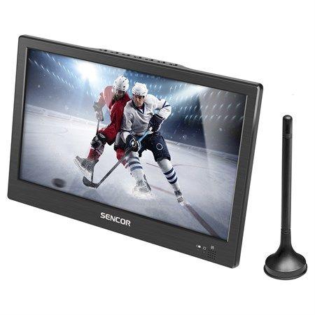 """LCD přenosný televizor SENCOR SPV 7012T10"""", DVB-T2, H.265 (HEVC) 26cm, napájecí napětí 12VDC"""