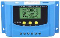 Solární regulátor PWM CY-K20A, 12-24V/20A s LCD