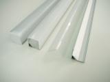 AL lišta-profil R5 - rohový+plexi 1m