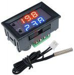Digitální termostat W1209, -50° až +110°C, napájení 12VDC