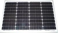 Fotovoltaický solární panel monokrystalický 12V/40Wp (MPPT18V) 2,2A, rozměry 670x430x30mm