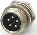 GX12 konektor panelový 5 pin
