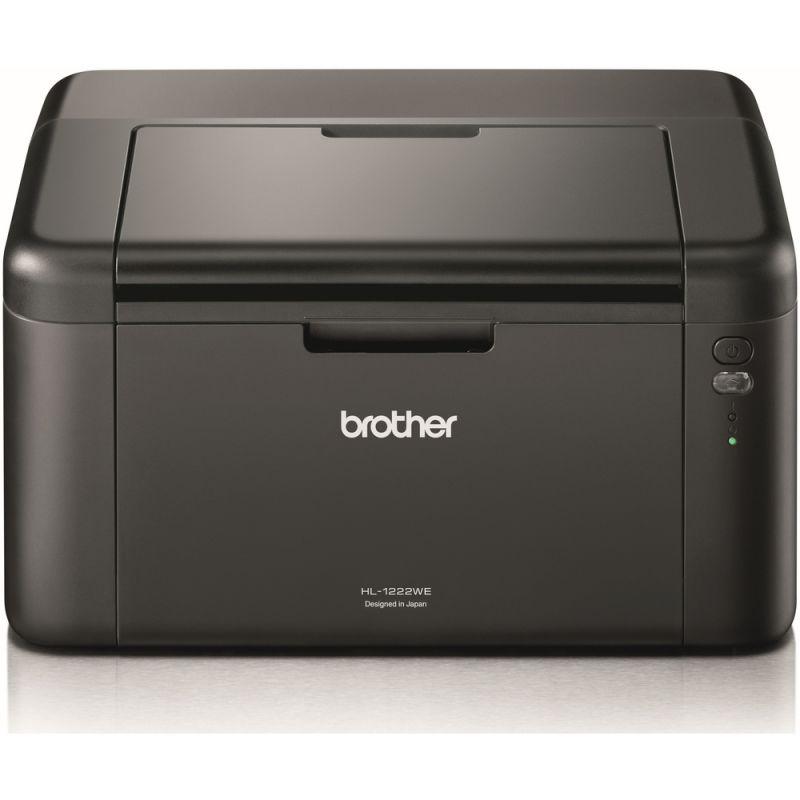 Laserová tiskárna BROTHER HL-1222WE, WiFi, USB 2.0, rychlost 20 str./min.