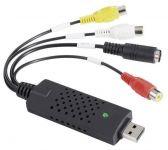 Převodník video USB - převod VHS analogu do digitální podoby, digitalizace kazet do PC, video-graber, kompatibilita Windows 2000, XP, Vista., redukce Scart / Cinch