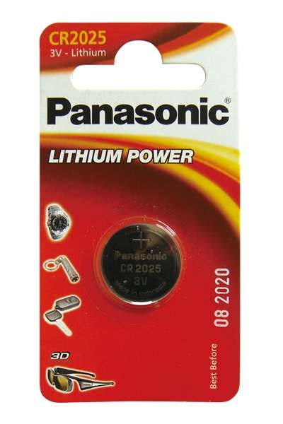 Baterie CR2025 3V Panasonic Lithiová