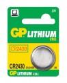 Baterie CR2430 3V GP Lithiová