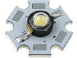 LED dioda výkonová 3W teplá bílá čirá 150 lm