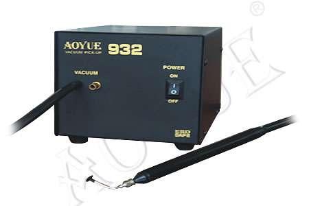 Odsávačka - vakouvá pinzeta typ-1 elektrickým vakuovým čerpadlem, pro montáž SMD, IO součástek z plošných spojů