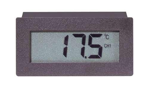 Teplotní spínací panelový modul TCM 220, dva teplotní snímače