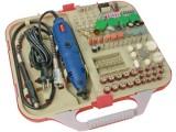 Vrtačka H-165 s regulací otáček 10000-32000 ot./min. 230V, 135W v kufříku se 165 dílným příslušenstvím