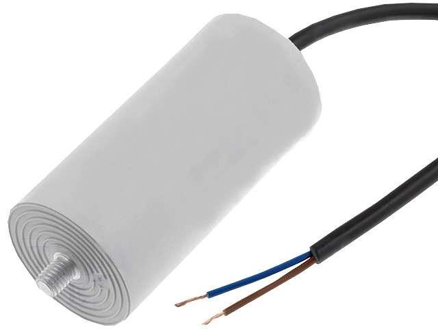 Kondenzátor rozběhový motorový 3M/425V s drátovými vývody