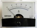 Panelové měřidlo ampermetr PMA-10A-DC 60x47mm