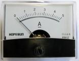 Panelové měřidlo ampermetr PMA-5A-DC 60x47mm