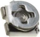 SMD3305 100R Trimr ležatý cermentový 0,1W 3x3,5mm