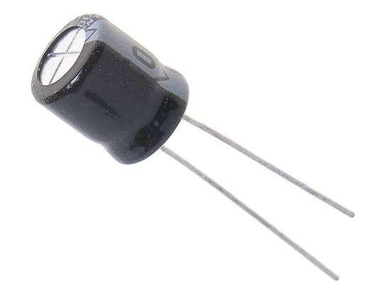Kondenzátor elektrolytický 470M/16V 105°C (8x11mm) radiální