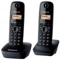 Panasonic KX TG1612FX DUO DECT bezdrátový telefon