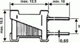 Tlumivka 820µH radiální typ O9P(COIL)