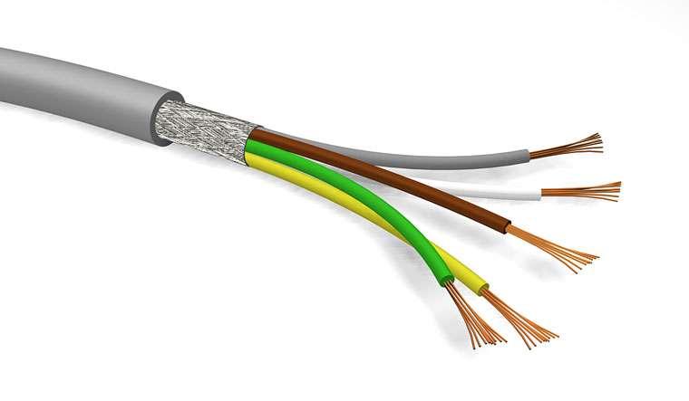Kabel LIYCY 108x1 stíněný, průměr 6mm