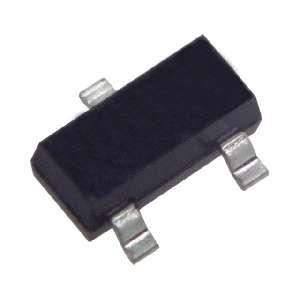 SMD zenerova dioda 3,3V 0,35W pouzdro SOT23 typ BZX84C..