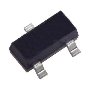 SMD zenerova dioda 4,3V 0,35W pouzdro SOT23 typ BZX84C..