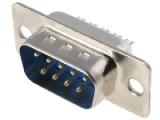 DS09VK konektor CANON 9 vidlice kabel