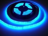 LED pásek vnitřní SQ600 120LED/m 12V 9,6W/m modrá cena za 1m