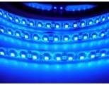 LED pásek voděodolný IP55 SQ3-W600 120LED/m 12V 9,6W/m modrá cena za 1m